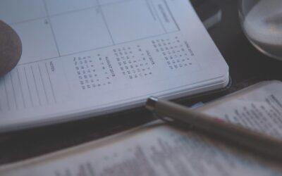 Calendario del curso 2021-22